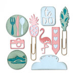 Sizzix - Thinlits Die - Planner Page - Icons 2