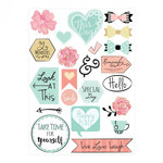 Sizzix - Cardstock Stickers - Planner Page - Icons