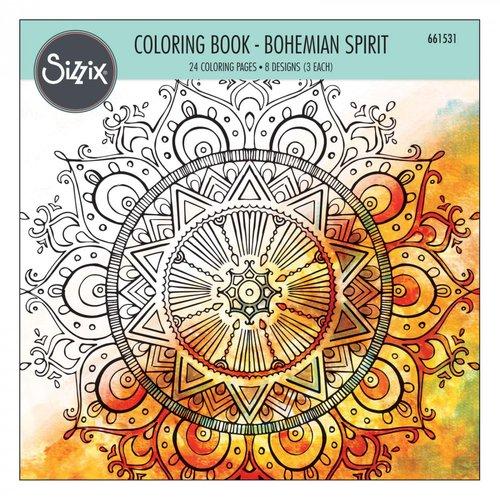 Sizzix - Coloring Book - Bohemian Spirit