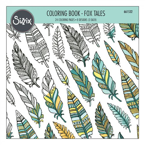 Sizzix - Coloring Book - Fox Tales