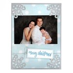 Sizzix - Christmas Collection - Thinlits Die - Photo Corners, Snowflake