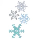 Sizzix - Christmas Collection - Thinlits Die - Snowflakes 2