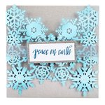 Sizzix - Christmas Collection - Thinlits Die - Snowflake Card