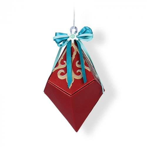 Sizzix - Christmas Collection - Thinlits Die - Snowflake Diamond Box