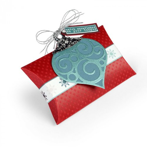 Sizzix - Christmas Collection - Bigz L Die - Box, Pillow with Ornaments