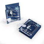 Sizzix - Christmas Collection - Thinlits Die - Tri-fold Card, Ice Skater