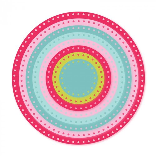 Sizzix - Framelits Dies - Dotted Circles