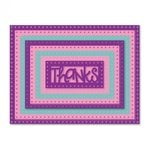 Sizzix - Framelits Dies - Rectangles, Dotted