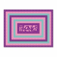 Sizzix - Framelits Dies - Dotted Rectangles