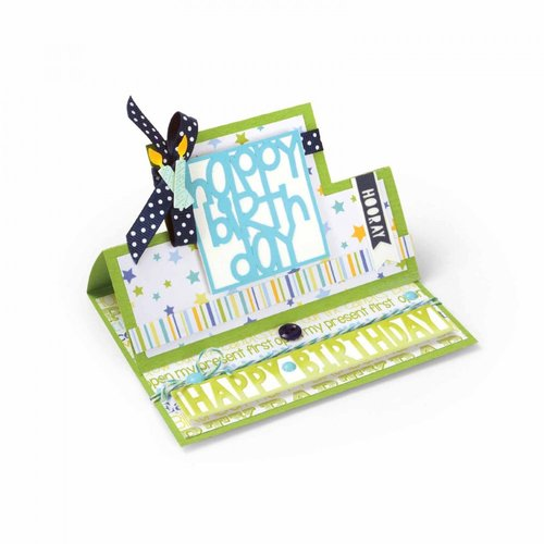 Sizzix - Framelits Dies - Square Stand Ups Card