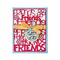 Sizzix - Thinlits Die - Friends