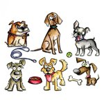Sizzix Tim Holtz Alterations Crazy Dogs Framelits Dies