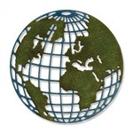 Sizzix - Tim Holtz - Alterations Collection - Thinlits Die - Mini Globe