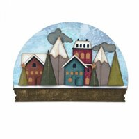Sizzix - Tim Holtz - Alterations Collection - Thinlits Die - Snowglobe