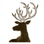 Sizzix - Tim Holtz - Alterations Collection - Bigz Die - Dashing Deer