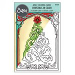 Sizzix - Christmas in Color Collection - Coloring Cards