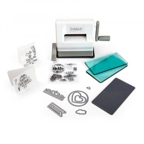 Sizzix - Sidekick - Starter Kit - White and Gray