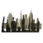 Sizzix - Tim Holtz - Alterations Collection - Thinlits Die - Cityscape, Skyline