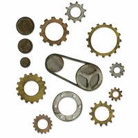 Sizzix - Tim Holtz - Alterations Collection - Bigz L Die - Industrial