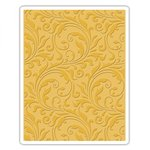 Sizzix - Tim Holtz - Alterations Collection - Texture Fades - Embossing Folder - Flourish