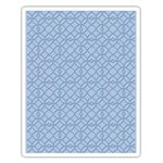 Sizzix - Tim Holtz - Alterations Collection - Texture Fades - Embossing Folder - Latticework