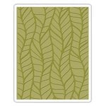 Sizzix - Tim Holtz - Alterations Collection - Texture Fades - Embossing Folder - Leafy