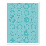 Sizzix - Tim Holtz - Alterations Collection - Texture Fades - Embossing Folder - Ringer