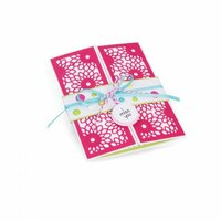 Sizzix - Thinlits Die - Half Card Panels