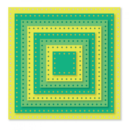 Sizzix - Framelits Dies - Dotted Squares