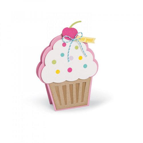 Sizzix - Framelits Die - Cupcake Fold-its