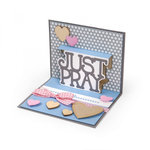 Sizzix - Thinlits Die - Just Pray 3-D Drop-ins