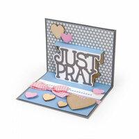 Sizzix - Thinlits Die - Just Pray 3-D Drop-ins