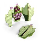 Sizzix - In Bloom Collection - Thinlits Die - Card Cactus Fold A Long