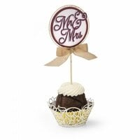 Sizzix - Thinlits Die - Cupcake Wrapper and Toppers