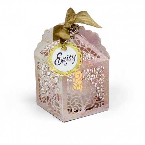 Sizzix - Thinlits Die - Birdcage Favor Box