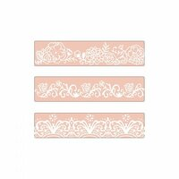 Sizzix - Textured Impressions - Embossing Folders - Border Set