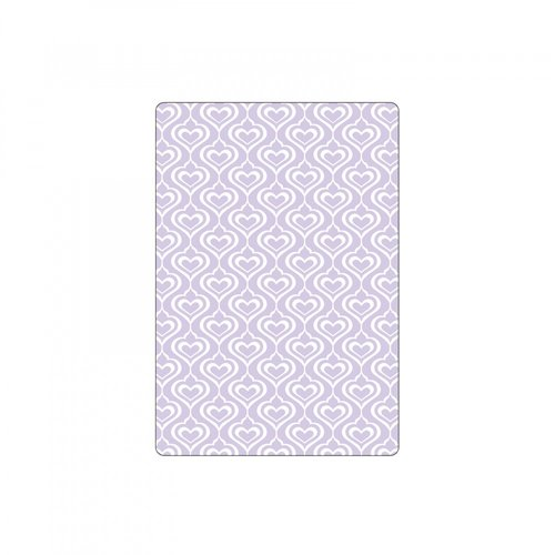 Sizzix - Textured Impressions - Embossing Folders - Hearts