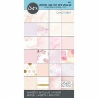 Sizzix - 6 x 12 Paper Pad - Make Every Day a Special Day