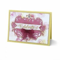 Sizzix - Thinlits Die - Floral Label 2