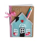 Sizzix - Thinlits Die - House Pocket Stitchlits