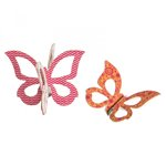 Sizzix - Where Women Cook Collection - Bigz Die - Butterflies, 3-D