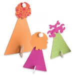 Sizzix - Where Women Cook Collection - Bigz Die - Party Hats, 3-D