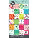Sizzix - Where Women Cook Collection - 6 x 12 Paper Pad - Have a Little Party