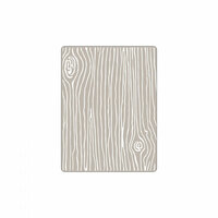 Sizzix - Textured Impressions - Embossing Folders - Woodgrain 4