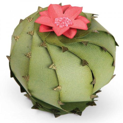 Sizzix - Thinlits Die - Barrel Cactus, 3-D