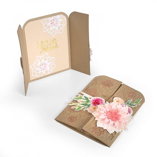 Sizzix - Thinlits Die - Card, Hello Friend Gatefold
