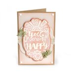 Sizzix - Thinlits Die - Phrase, You Are My Happy