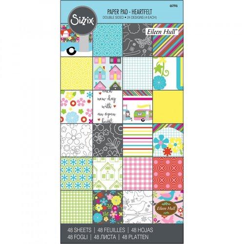 Sizzix - 6 x 12 Paper Pad - Heartfelt