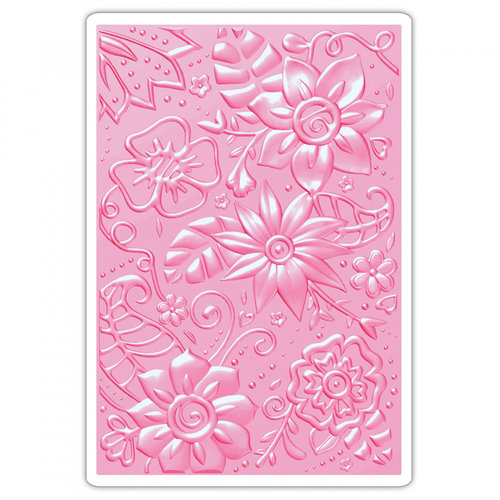 Sizzix - 3D Textured Impressions - Embossing Folders - Bohemian Botanicals