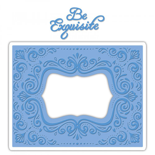 Sizzix - Impresslits Embossing Folder - Aquarius Frame